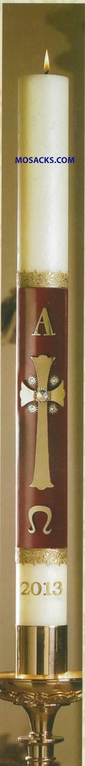 No 9 Majesty Paschal Candle #10961