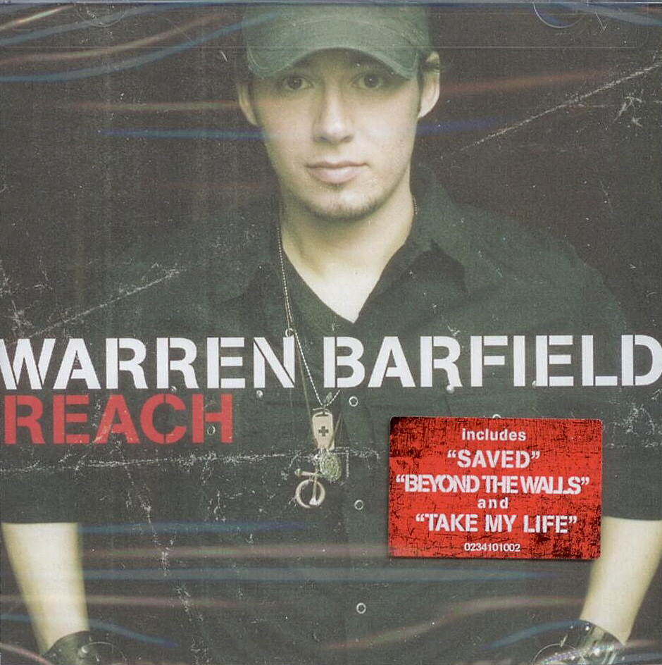 Warren Barfield, Artist; Reach, Title; Music CD
