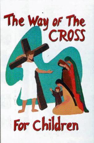 The Way Of The Cross For Children Booklet of Barton Cotton 103-BQ049