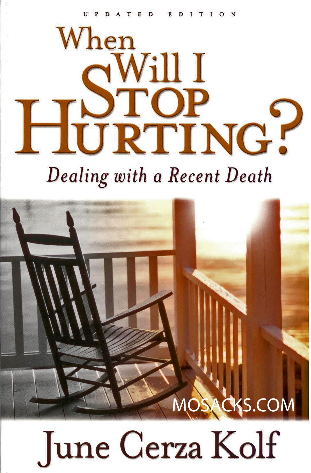 When Will I Stop Hurting? by June Cerza Kolf