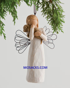 "Willow Tree® Angel of Friendship Ornament 4.5"" 20643"