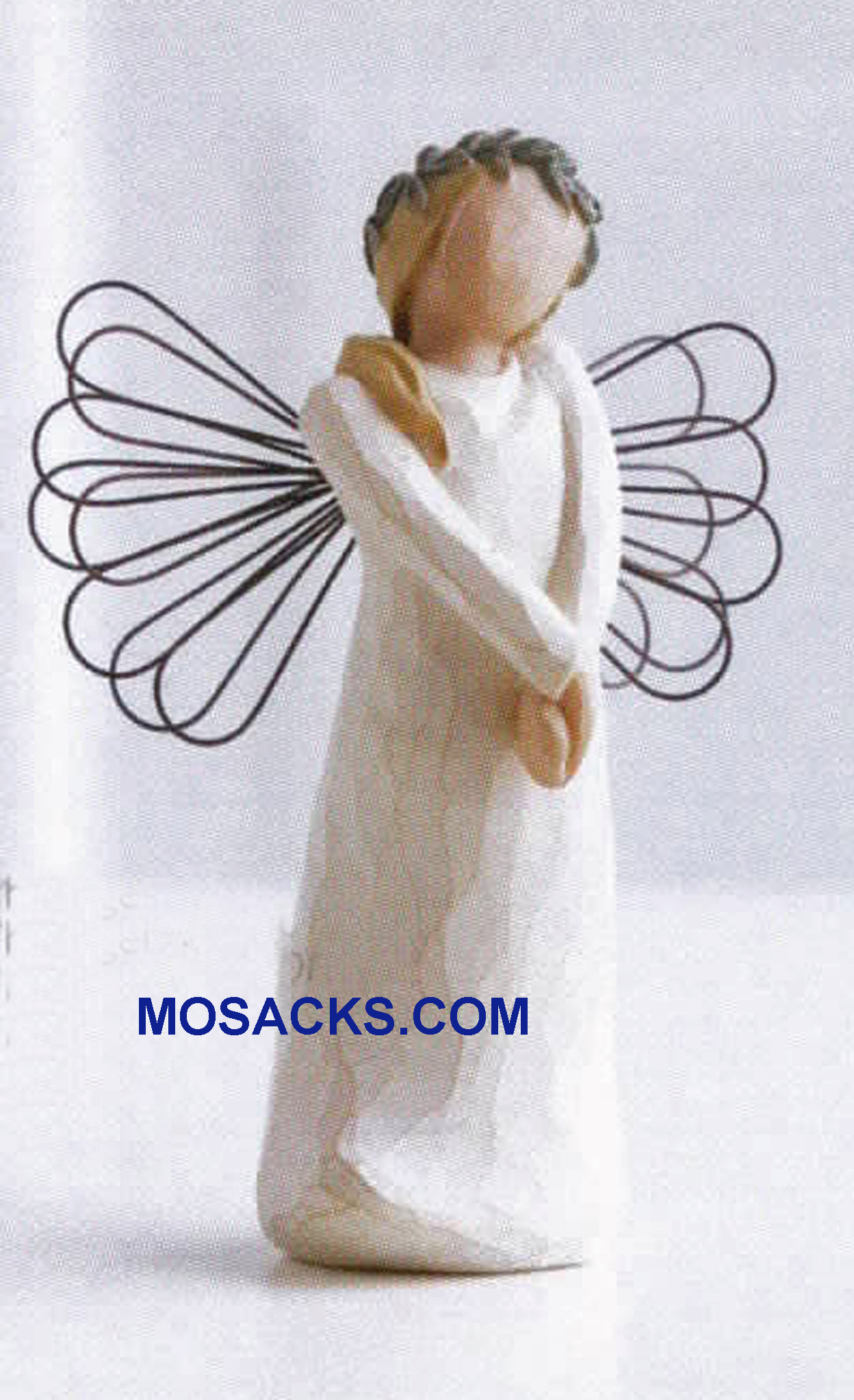 Willow Tree Angels Celebrate With joyful anticipation #26108 Willow Tree Angel with Wreath head piece
