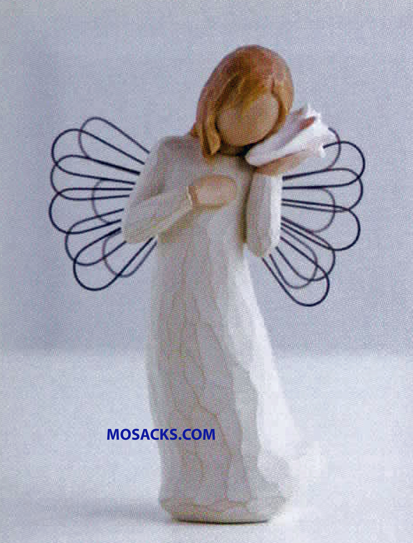 "Willow Tree Angel - Thinking of You Keeping you close in my thoughts 5.5"" H 26131 Willow Tree Angel with Sea Shell"