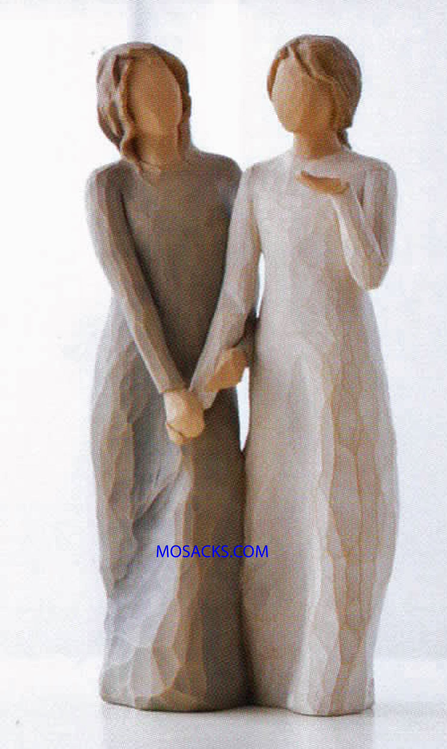 "Willow Tree Figurine My sister my friend Walk with me And along the way we'll share everything 8.5"" H 27095"