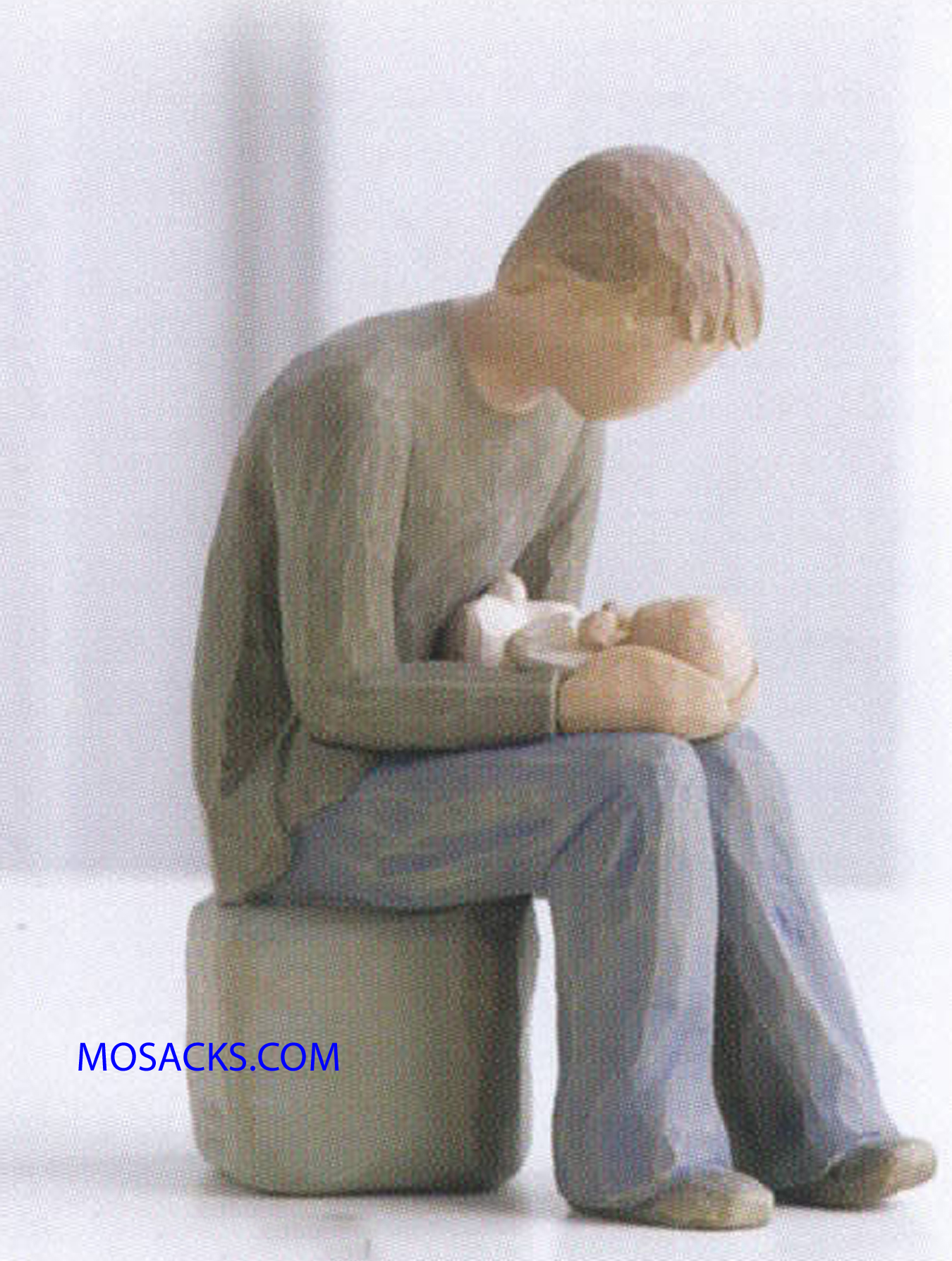 "Willow Tree Figurine, New Dad, 6""H 26129"