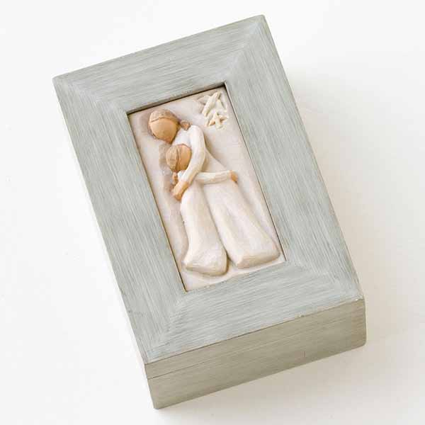 Willow Tree Mother & Daughter Memory Box 26626