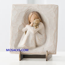 Willow Tree® Plaque Comfort An Embrace of Comfort and Love  26512