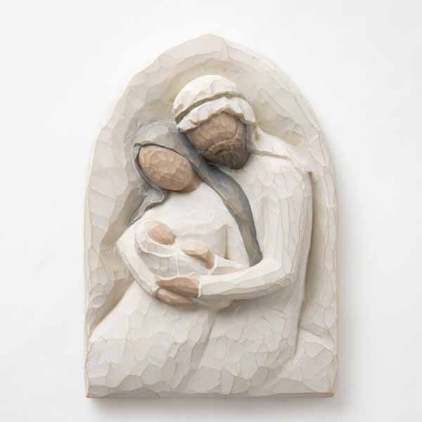 Willow Tree® Plaque Holy Family A Child is Born 26508
