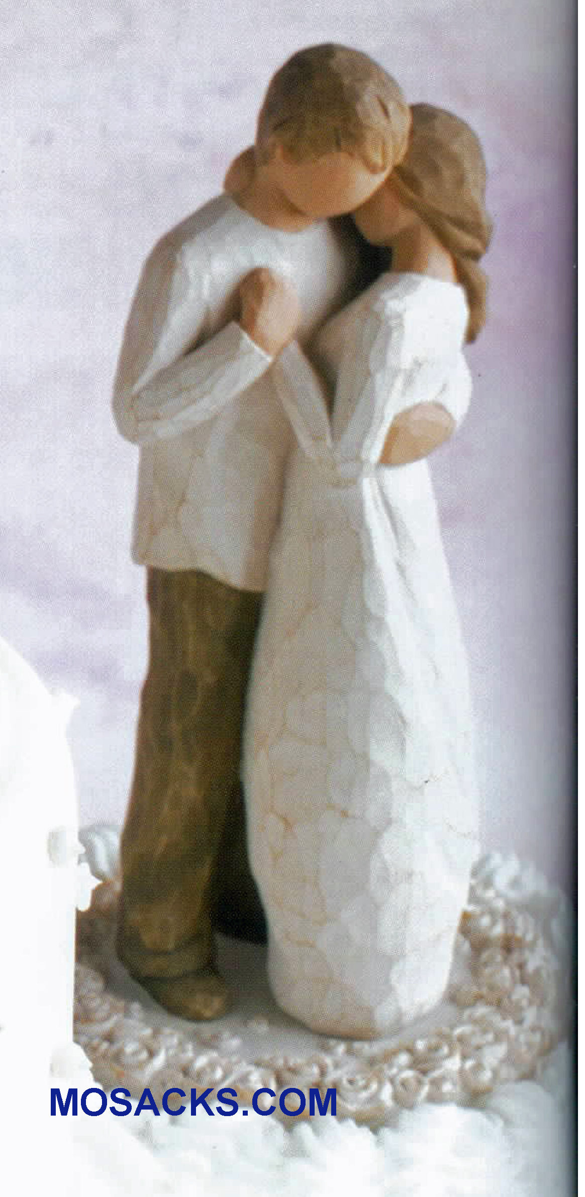 Willow Tree Promise Cake Topper Hold dear the promise of love  26189