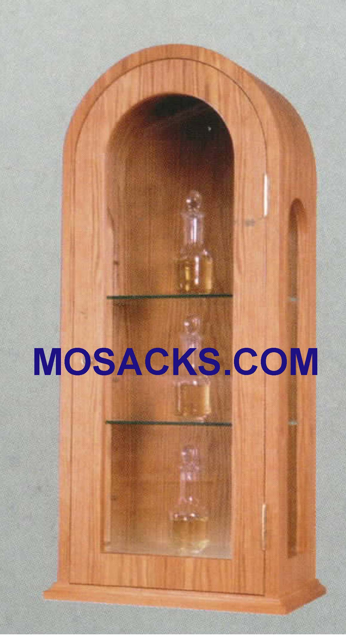 "Wood Ambry 16""w x 9""d x35""h 718 Woerner Church Furniture at Mosack's"