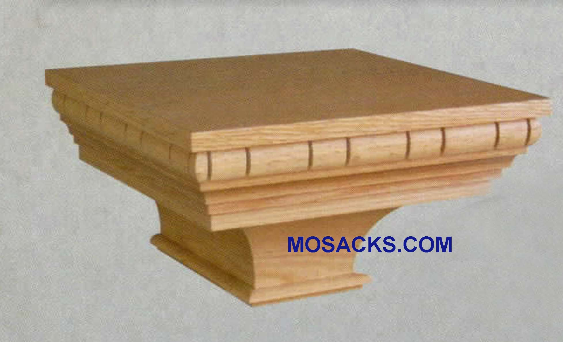 "Wooden Wall Mount Pedestal 20""w x 19""d, 9""h #427 W Brand Church Furniture at Mosack's"