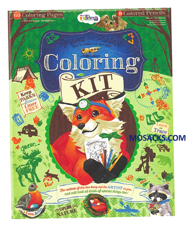 Woodland Coloring Kit 462-W201360