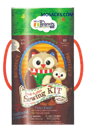 Wee Believers Woodland Sewing Kit 462-W201420
