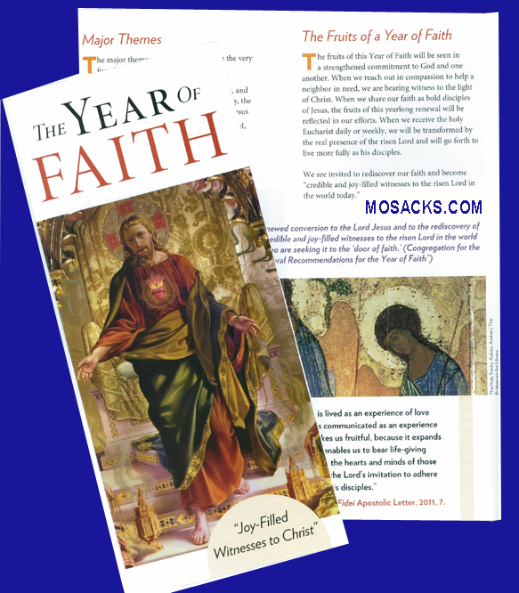 Year Of Faith Pamphlet-9781612786629, Year of Faith Overview